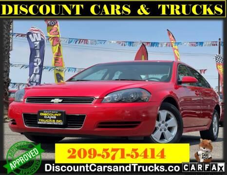 2009 Chevrolet Impala for sale at Discount Cars & Trucks in Modesto CA