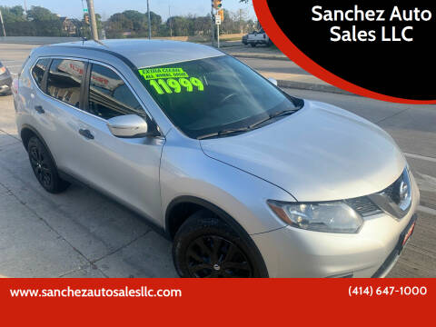 2016 Nissan Rogue for sale at Sanchez Auto Sales LLC in Milwaukee WI