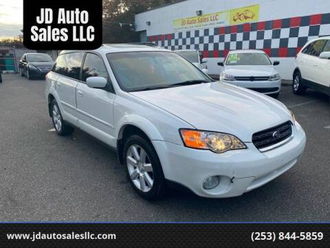 2007 Subaru Outback for sale at JD Auto Sales LLC in Fife WA