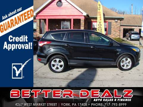 2015 Ford Escape for sale at Better Dealz Auto Sales & Finance in York PA