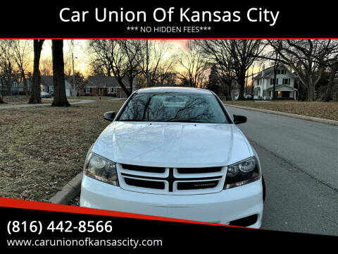 2013 Dodge Avenger for sale at Car Union Of Kansas City in Kansas City MO