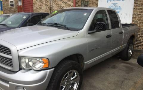 2005 Dodge RAM 150 for sale at HW Used Car Sales LTD in Chicago IL