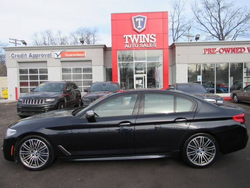 2018 BMW 5 Series for sale at Twins Auto Sales Inc in Detroit MI