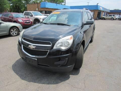 2013 Chevrolet Equinox for sale at PLATINUM AUTO SALES in Dearborn MI