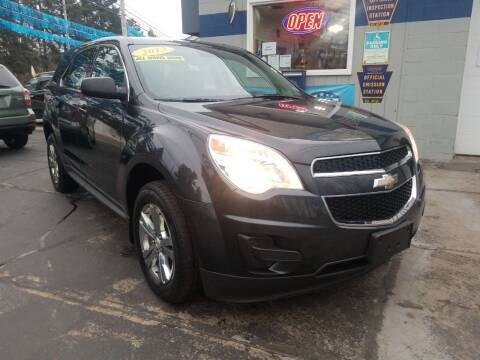 2013 Chevrolet Equinox for sale at Bizzarro`s Fleetwing Auto Sales in Erie PA