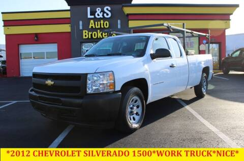 2012 Chevrolet Silverado 1500 for sale at L & S AUTO BROKERS in Fredericksburg VA