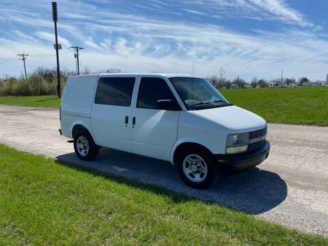 2004 Chevrolet Astro Cargo for sale at MJ'S Sales in Foristell MO