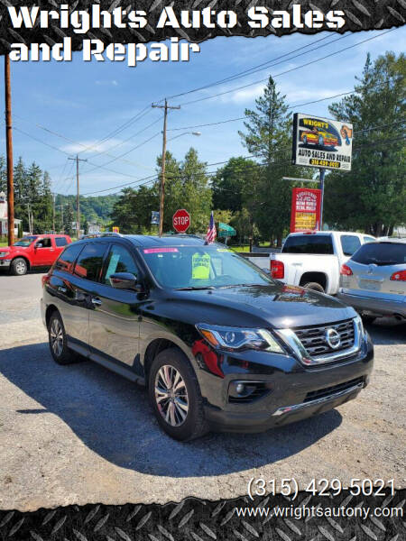 2020 Nissan Pathfinder for sale at Wrights Auto Sales and Repair in Dolgeville NY