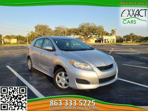 2009 Toyota Matrix for sale at Exxact Cars in Lakeland FL