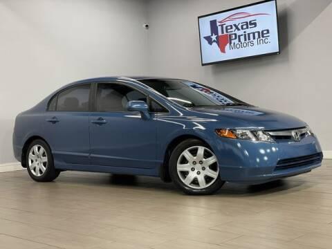 2007 Honda Civic for sale at Texas Prime Motors in Houston TX