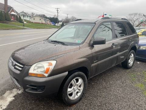 2007 Kia Sportage for sale at Trocci's Auto Sales in West Pittsburg PA