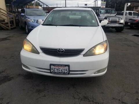 2003 Toyota Camry for sale at Gateway Motors in Hayward CA