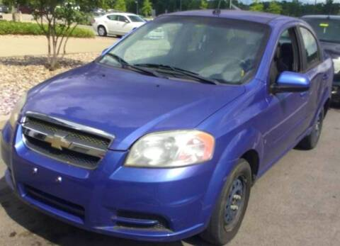2009 Chevrolet Aveo for sale at D & J AUTO EXCHANGE in Columbus IN