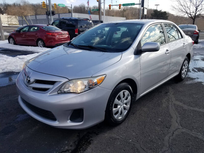 2011 Toyota Corolla for sale at Cedar Auto Group LLC in Akron OH