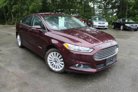 2013 Ford Fusion Hybrid for sale at Yaab Motor Sales in Plaistow NH
