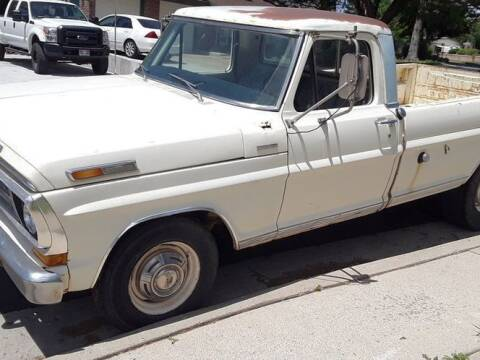 1971 Ford F-250 for sale at Classic Car Deals in Cadillac MI