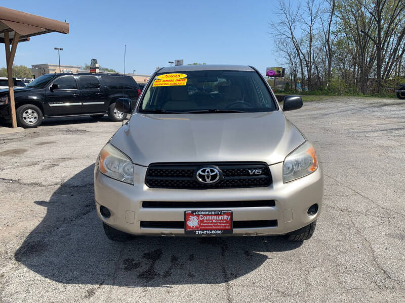 2008 Toyota RAV4 for sale at Community Auto Brokers in Crown Point IN
