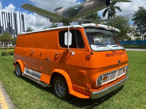 1968 Chevrolet Chevy Van for sale at BIG BOY DIESELS in Fort Lauderdale FL