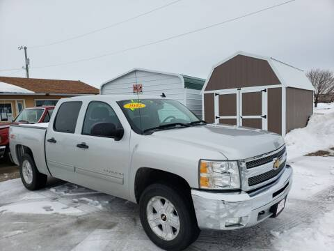 2012 Chevrolet Silverado 1500 for sale at P & T SALES in Clear Lake IA