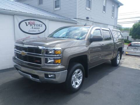 2015 Chevrolet Silverado 1500 for sale at VICTORY AUTO in Lewistown PA