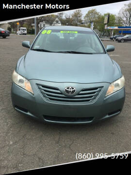 2008 Toyota Camry for sale at Manchester Motors in Manchester CT