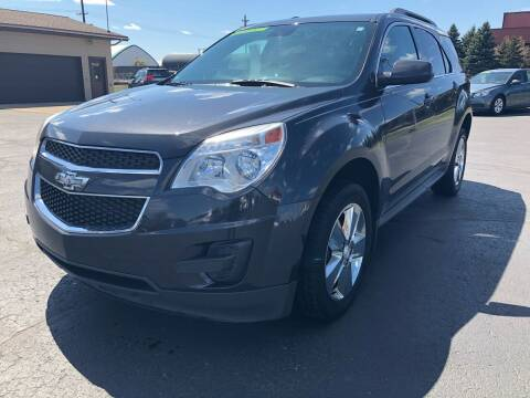 2013 Chevrolet Equinox for sale at Mike's Budget Auto Sales in Cadillac MI