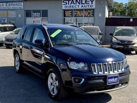 2014 Jeep Compass for sale at Stanley Automotive Finance Enterprise - STANLEY DIRECT AUTO in Mesquite TX