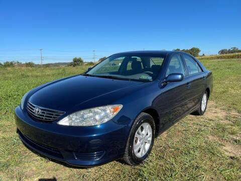 2005 Toyota Camry for sale at Linda Ann's Cars,Truck's & Vans in Mount Pleasant PA