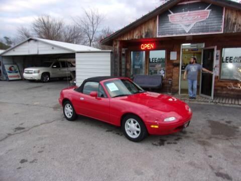 1991 Mazda MX-5 Miata for sale at LEE AUTO SALES in McAlester OK