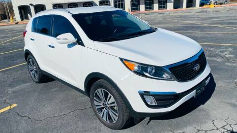 2014 Kia Sportage for sale at H & B Auto in Fayetteville AR