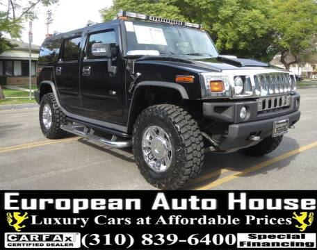 2007 HUMMER H2 for sale at European Auto House in Los Angeles CA