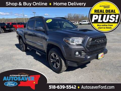 2017 Toyota Tacoma for sale at Autosaver Ford in Comstock NY