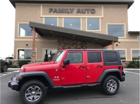 2008 Jeep Wrangler Unlimited for sale at Moses Lake Family Auto Center in Moses Lake WA