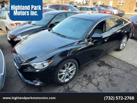 2015 Mazda MAZDA6 for sale at Highland Park Motors Inc. in Highland Park NJ
