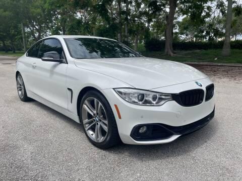 2015 BMW 4 Series for sale at DELRAY AUTO MALL in Delray Beach FL
