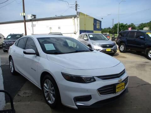 2018 Chevrolet Malibu for sale at Metroplex Motors Inc. in Houston TX