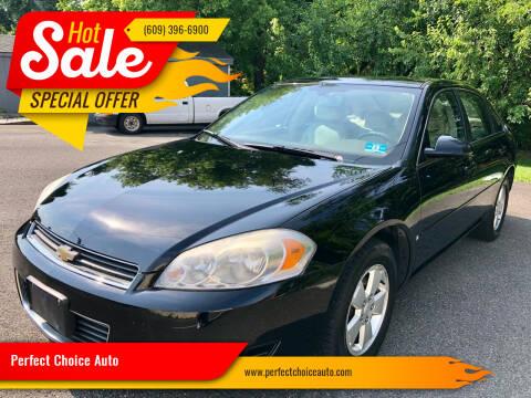2007 Chevrolet Impala for sale at Perfect Choice Auto in Trenton NJ