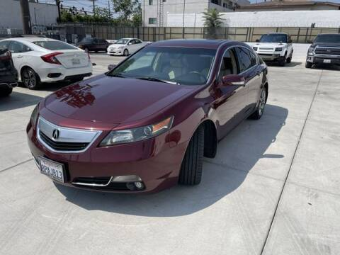 2013 Acura TL for sale at Hunter's Auto Inc in North Hollywood CA