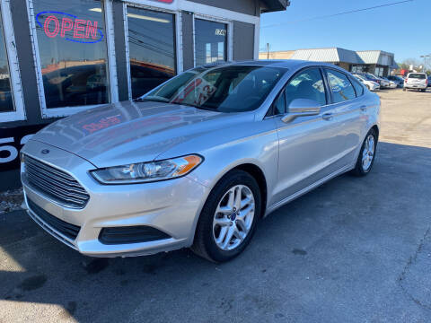 2013 Ford Fusion for sale at Martins Auto Sales in Shelbyville KY
