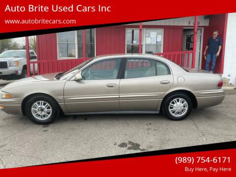 2004 Buick LeSabre for sale at Auto Brite Used Cars Inc in Saginaw MI
