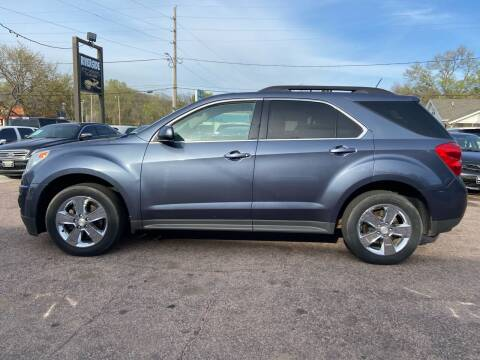 2013 Chevrolet Equinox for sale at RIVERSIDE AUTO SALES in Sioux City IA