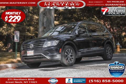 2018 Volkswagen Tiguan for sale at European Masters in Great Neck NY