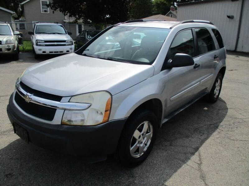 2005 Chevrolet Equinox for sale at RJ Motors in Plano IL