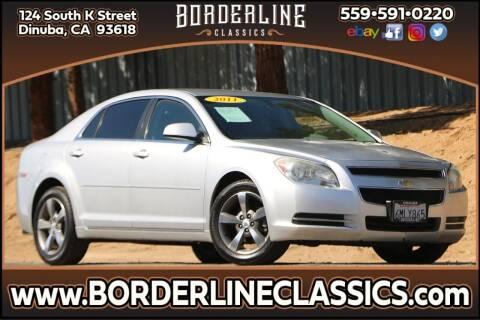 2011 Chevrolet Malibu for sale at Borderline Classics in Dinuba CA