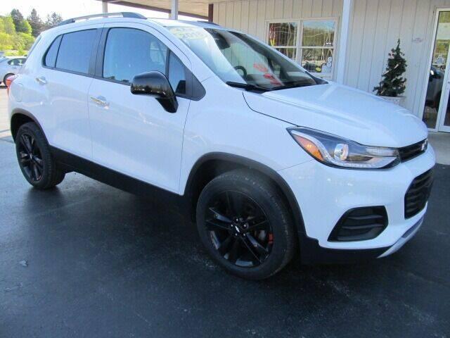2018 Chevrolet Trax for sale at Thompson Motors LLC in Attica NY