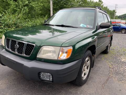 2002 Subaru Forester for sale at JM Auto Sales in Shenandoah PA