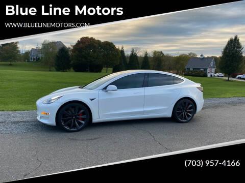 2020 Tesla Model 3 for sale at Blue Line Motors in Winchester VA