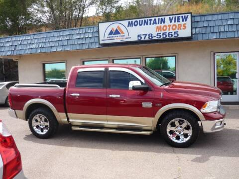 2011 RAM Ram Pickup 1500 for sale at Mountain View Motors Inc in Colorado Springs CO