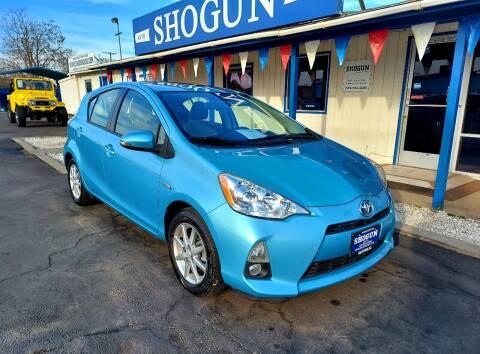 2014 Toyota Prius c for sale at Shogun Auto Center in Hanford CA