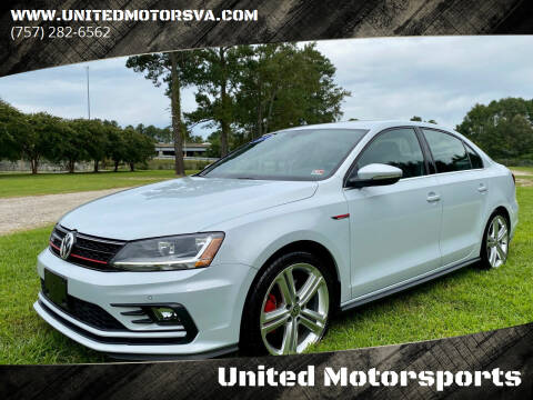 2017 Volkswagen Jetta for sale at United Motorsports in Virginia Beach VA
